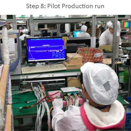 Pilot production run