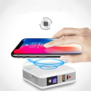 wireless charging battery pack