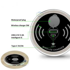 Surface wireless charger